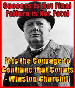 Churchill - Success is Not Final